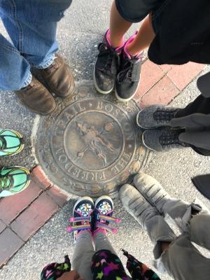 "Walking The Boston ""Freedom Trail"""